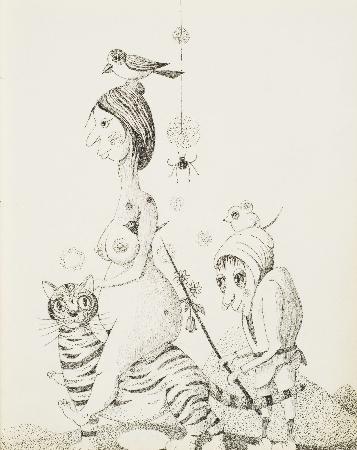 83. Ptaszek na głowie czarownicy, czarownica