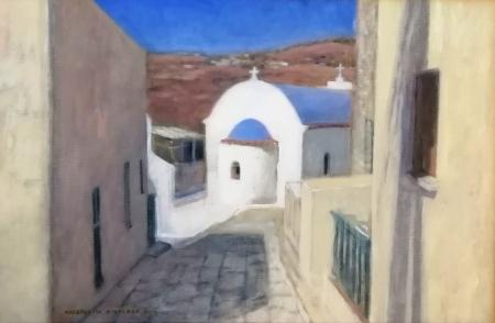 Grecki kościółek