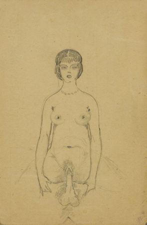Erotyki, (fragment ze szkicownika)