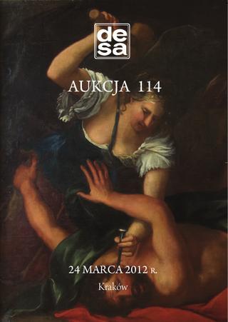 Aukcja 114 - Malarstwo, grafika, fotografia, rzemiosło artystyczne