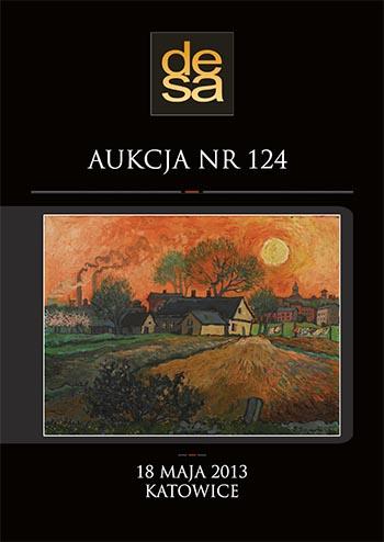 Aukcja 124 - Malarstwo, grafika, fotografia, rzemiosło artystyczne