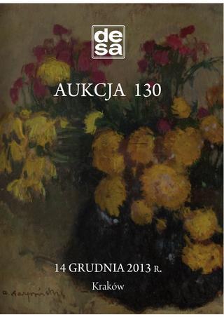Aukcja 130 - Malarstwo, grafika, fotografia, rzemiosło artystyczne