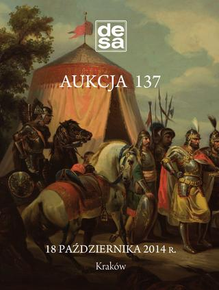Aukcja 137 - Malarstwo, grafika, fotografia, rzemiosło artystyczne