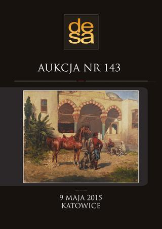 Aukcja 143 - Malarstwo, grafika, fotografia, rzemiosło artystyczne