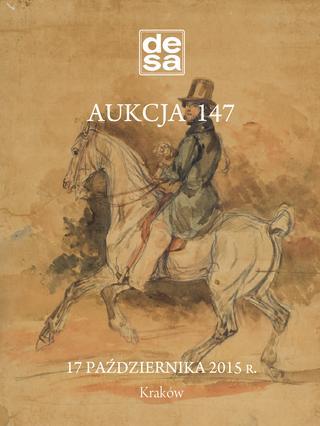 Aukcja 147 - Malarstwo, grafika, fotografia, rzemiosło artystyczne