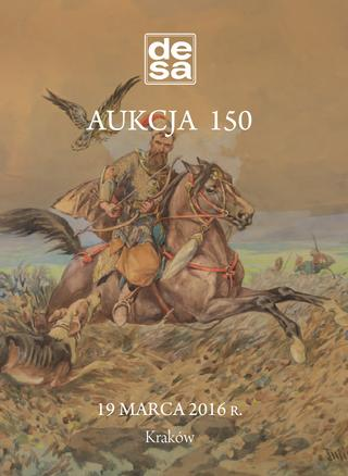Aukcja 150 - Malarstwo, grafika, fotografia, rzemiosło artystyczne