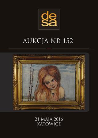 Aukcja 152 - Malarstwo, grafika, fotografia, rzemiosło artystyczne