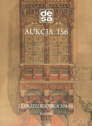 Aukcja 156 - Malarstwo, grafika, fotografia, rzemiosło artystyczne