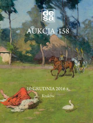 Aukcja 158 - Malarstwo, grafika, fotografia, rzemiosło artystyczne