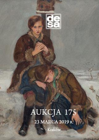 Aukcja 175 - Malarstwo, grafika, rzemiosło artystyczne