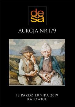 Aukcja 179 - Malarstwo, grafika, fotografia, rzemiosło artystyczne