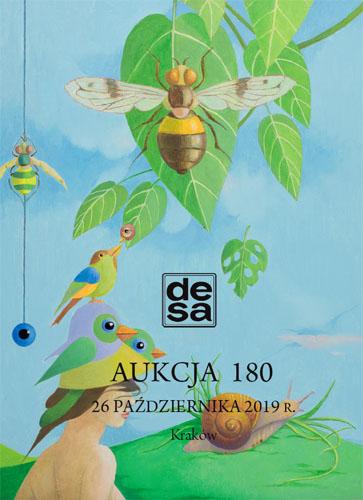Aukcja 180 - Malarstwo, grafika, rzemiosło artystyczne